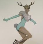 becca-midwood-skating-deer-girl